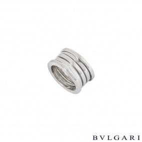 Bvlgari White Gold B.Zero1 Ring 328132
